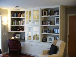... Wall Units, Built In Wall Cabinets With Desk Built In Desk And Bookshelves  Plans Built ...