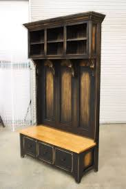 Entry Hall Bench And Coat Rack Fascinating Entry Hall Bench With Coat Rack Best Hallway Storage Ideas On