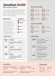 Free Psd Cv Template For Web Graphic Artist Good Resume