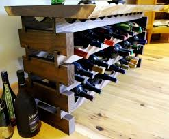 pallet wine rack. Modern Pallet Rack Feel. Wine