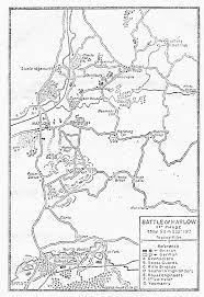 Battle of harlow 1st phase about 5 a m sept 13th