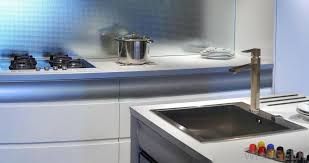metals such as aluminum and stainless steel are sometimes used for countertops