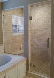 heavy glass shower subway tiles heavy glass shower doors