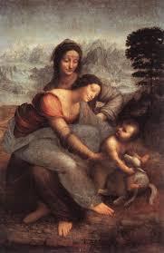 deborah feller artist com leonardo da vinci the virgin and child st anne c 1508