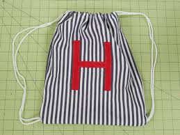 Drawstring Backpack Pattern Interesting How To Make A Drawstring Backpack
