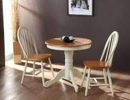 round wood dining table dark