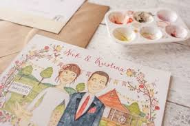 hello may · invitations Personalised Drawing Wedding Invitations Personalised Drawing Wedding Invitations #38 Peacock Wedding Invitations