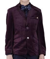 Boys Designer Blazer One Friday Blazer For Boys Designer Velvet Blazer Coat For
