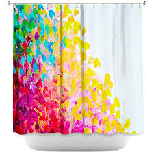 Artistic shower curtains Abstract Buy Artistic Shower Curtains By Dianoche Designs Creation In Color By Dianoche Designs On Dot Bo Dot Bo Buy Artistic Shower Curtains By Dianoche Designs Creation In Color