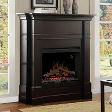 colton espresso electric fireplace mantel package dfp26l 5337es