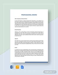 Memo Template For Google Docs Free 7 Professional Memo Examples Samples In Pdf Doc