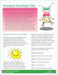 February Newsletter Template February Daycare Newsletter Template Templates Nza0ota