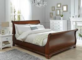orleans walnut wooden bed frame  dreams
