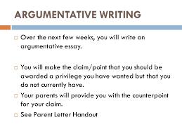 argumentative writing ppt video online argumentative writing