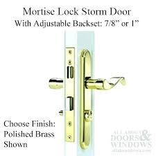 D Pella Door Hardware Storm Lock Body Mortise  Wright Choose Color Home