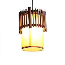 liveinu mini pendant lighting with artificial parchment and bamboo lamp shade hanging ceiling pendant light kitchen lamp for kitchen island restaurants