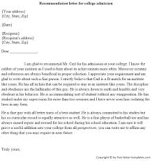 Collection Reference Letter For Student Acceptance Photos, - Daily ...