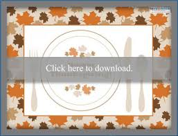 Keep the little kids busy while they wait for thanksgiving dinner to be ready, or let the adults relax and color. Free Printable Thanksgiving Placemats Lovetoknow
