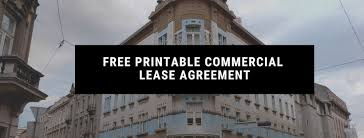Create your free commercial lease agreement. Free Printable Commercial Lease Agreement Landlordo Com