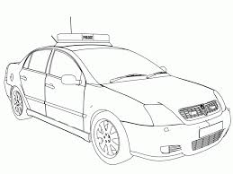 Pictures For Coloring Book With Numbers Color Police Carages Cars