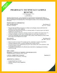 Pharmacy Technician Resume Examples Mesmerizing Pharmacy Technician Resume Examples Sample Pharmacist Letter