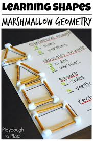 Small Picture Marshmallow Geometry Fun activities Geometry and Marshmallow