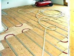radiant heated hardwood floors heat electric under engineered wood heating newest