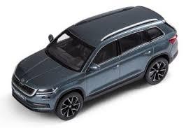 <b>Модель автомобиля Skoda Kodiaq</b>, Scale 1:43, Metal Grey