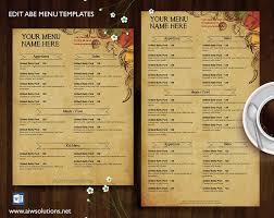 Restaurant Menu Template Menu Id27 Restaurant Menu Template Vintage Menu Burger
