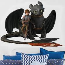 Beautiful Produktfoto Wandtattoo Dragons Hicks Und Ohnezahn Machen Pause