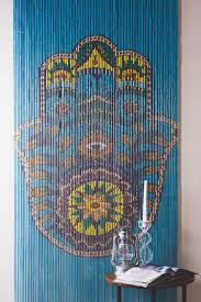 walls doorways or just anywhere these hand painted door curtains can give a