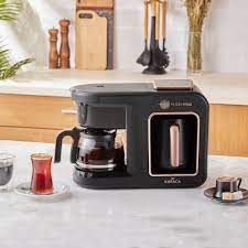 Karaca Hatır Plus Mod 5 in 1 Kahve Ve Çay Makinesi Black Copper