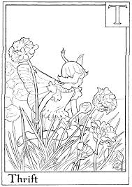 Awesome Flower Fairies Coloring Pages Fairies Coloring Page Free