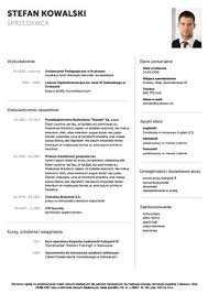 Darmowy Szablon Cv Do Wypełnienia - Wzór Cv Do Pobrania - Szybkiecv.pl