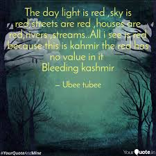 All I See Is Green Lights The Day Light Is Red Sky Quotes Writings By Ubee