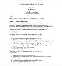supermarket cashier resume pdf download fast food cashier resume