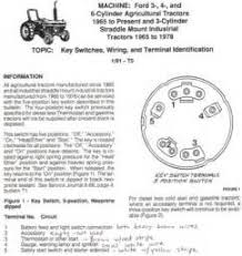 similiar ford 3000 ignition switch diagram keywords ignition switch wiring diagram on ford 3000 ignition switch diagram