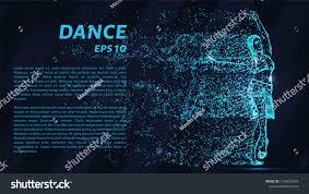 10 Points Of Light Dance Blue Points Light Girl Dancing Sports Recreation