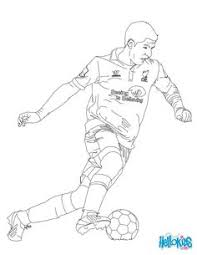 Small Picture Christiano Ronaldo playing soccer coloring page LEARN Diverse
