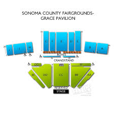 Sonoma County Fair Horse Racing Seating Chart Sonoma County