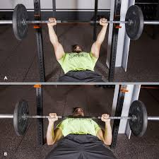 Image result for 1. Barbell Bench Press