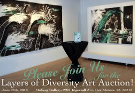 2018 layers of diversity art auction