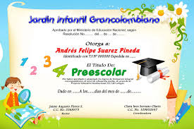formato mencion de honor diplomas y mosaicos escolares diplomas y mosaicos preescolar