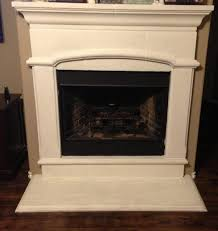 paint cement fireplace hearth ideas