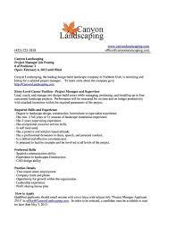 Landscape Crew Leader Cover Letter