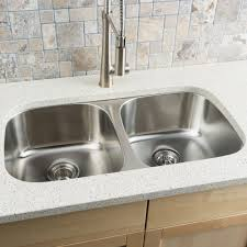 Shop Hahn Stainless Steel Equal Double Bowl Kitchen Sink 18 Gauge