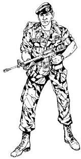 Army Soldier Free Coloring Pages On Art Coloring Pages