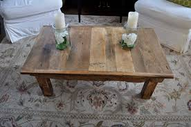 Reclaimed Barn Wood Coffee Table Pictures