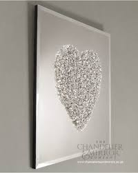 incredible ideas heart wall art remodel miyabei frameless silver cers mirror with pictures nz stickers uk