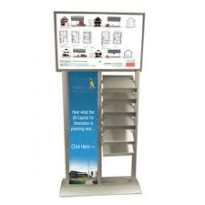 Marketing Display Stands Best StraightLine 32 Multimedia Stands